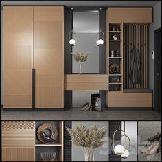 Wardrobe Door Designs, Wardrobe Design Bedroom, Wardrobe Furniture, Hallway Furniture, Room Design Bedroom, Bedroom Furniture Design, Home Room Design, Modern Bedroom, Home Interior Design