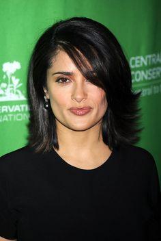 Salma Hayek Hair