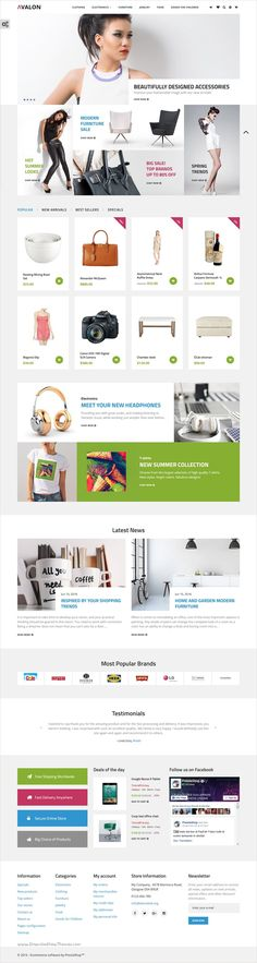 Avalon is a clean yet functional #PrestaShop template for stunning #eCommerce #website with 3 different homepage layouts download now➩ https://themeforest.net/item/avalon-wholesale-store-responsive-prestashop-theme/17158412?ref=Datasata