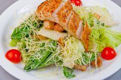 Салат цезарь салат с креветками рецепт