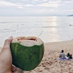 Agüita de coco! 🌴  _____________________________________________ #beach #playa #sunset #sunsetporn #sunsets #sea #mar #coco #coconut #coconutjuice #holidays #sand #vsco #vscocam #vsconature #wanderlust #landscape #tbt #instagood #instagoodmyphoto #movilgrafias #thailand #tailandia #thaifood #thaistagram #travelgram #travelphotography #travel #tourism #travelgram #meetingprofs #eventprofs #meeting #planner #events #eventplanner #popular #trending #micefx [Visit www.micefx.com for more...]