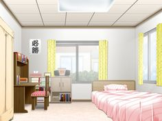 Discover recipes, home ideas, style inspiration and other ideas to try. Game Background Art, Kitchen Background, Living Room Background, Animation Background, Cute Rooms For Girls, Pink Bedroom For Girls, Anime Backgrounds Wallpapers, Hd Nature Wallpapers, Episode Interactive Backgrounds