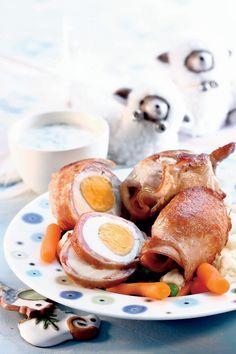 Ouă fierte în înveliş de carne | Retete culinare - Romanesti si din Bucataria internationala