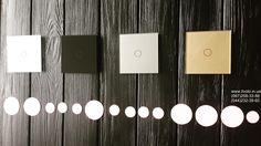 Сенсорный выключатель #Livolo. Исполнение в четырех цветах #белый #черный #серый #золотой Магазин livolo.in.ua Покупай у нас с гарантией 1 год. #сенсорныйвыключатель #выключатель #свет #дизайн #киев #украина Tea Lights, Touch, Candles, Candy, Candle, Tea Light Candles, Pillar Candles, Lights