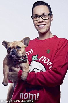 Gok Wan for Save the Children's Christmas Jumper Day