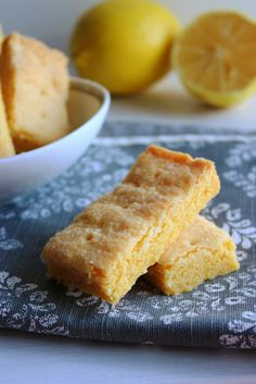 Lemon Cornmeal Shortbread Cookies: Cookie #3 of the 12 Cookies of ...