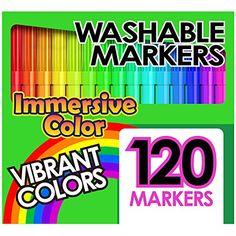Washable Markers Set (GIANT BOX OF 120 INDIVIDUAL COLORS)... https://www.amazon.com/dp/B01HOX1B1C/ref=cm_sw_r_pi_dp_x_JeOSxbR98NSTQ