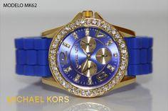 Reloj Michael Kors dama azul rey
