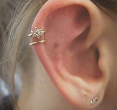 30 Beautiful Constellation And Astronomy Ear Piercings From Cuffs To Studs