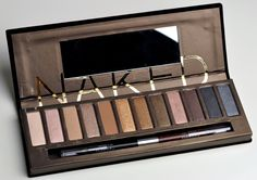 Urban Decay Naked Eyeshadow Palette Review, Photos, Swatches for Fall 2010