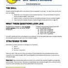 """TpT's """"10 Free Downloads"""" featured product. Take the boring out of your ACT or grammar practice with a high-interest passage about Taylor Swift, but still focus on a single skill with practice, self-reflection, strategies and fun facts!"""