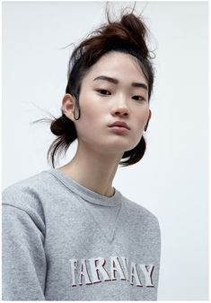 Hyun Ji Shin By Hannah Scott-Stevenson For I-D Australia!