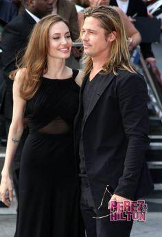 Angelina Jolie and Brad Pitt may be married.