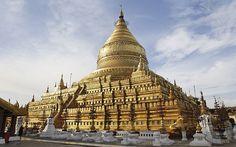 13: Shwedagon Pagoda, Myanmar  Picture: ALAMY