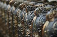 Beauty in unlikely places --  Stunning Radiators.