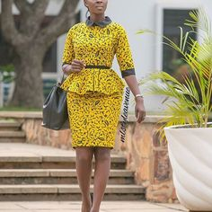 Latest african fashion outfits looks 6244 Latest African Fashion Dresses, African Dresses For Women, African Print Fashion, Africa Fashion, African Attire, African Women, African Prints, Ankara Rock, Ankara Stil