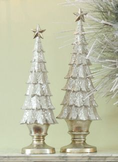 I'm dreaming of a white *and gold* Christmas :)