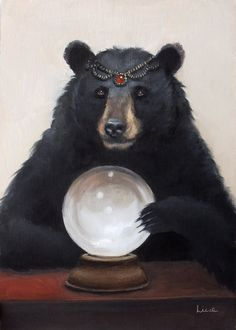 Gypsy Bear https://www.etsy.com/listing/235118959/gypsy-bear-signed-8x10-print-of-an