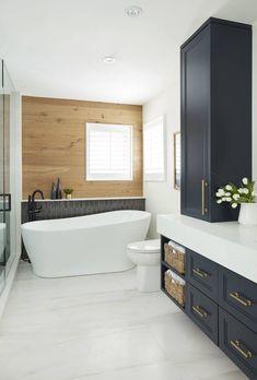 Feels Like Home – Issuu Beautiful Bathrooms, Modern Bathroom, Small Bathroom, Master Bathroom, Bathroom Renos, Laundry In Bathroom, Bathroom Ideas, Washroom, Master Bath Remodel