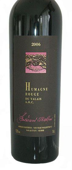 Adrian & Diego Mathier: Spezialitäten Humagne Rouge und Syrah | Vinifera-Mundi, News! Vinifera, Switzerland, Red Wine, Alcoholic Drinks, Bottle, Glass, How To Make, Red, Wine