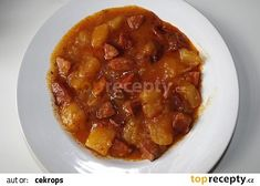 Goulash, Chana Masala, Beef, Ethnic Recipes, Red Peppers, Meat, Steak
