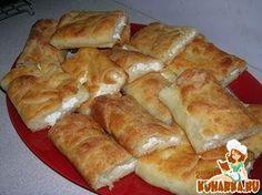 Рецепт: Болгарская банница или сербская гибаница (слоеный пирог из теста фило)