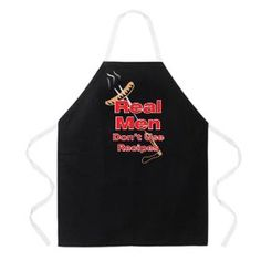 Real Men Don't Use Recipes Novelty Apron