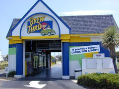 Brew Thru Drive Thru! Can't wait for OBX this year!