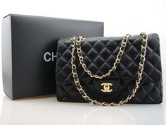 Black Chanel Bag. Classic. dreamy dream. yes please!
