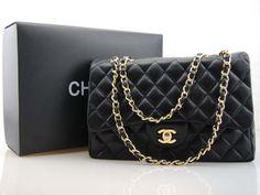 Black Chanel Bag. Classic. dreamy dream. yes please!