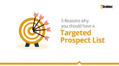 ▷ 5 Reasons Why You Should have a Targeted Prospect List Sales Development, Thirty One Party, Target Audience, Software, Journey, Tools, Marketing, Reading, Business