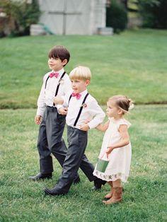 a precious trio... via Jeremiah And Rachel Photography