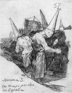 Prisionero encadenado - Francisco de Goya- WikiPaintings.org