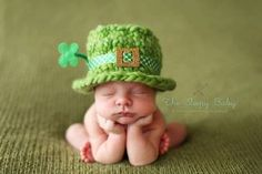 The cutest leprechaun I have ever seen!
