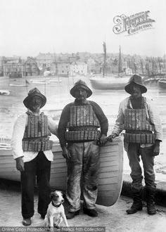 Lifeboats - a nostalgic photo feature from Frith St Ives Cornwall, Cornwall England, Old Fisherman, St Just, St Agnes, Sea Captain, Search And Rescue, British History, Vintage Photographs