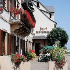 Hôtel Restaurant Les Vosges Obernai #tourismeobernai www.tourisme-obernai.fr
