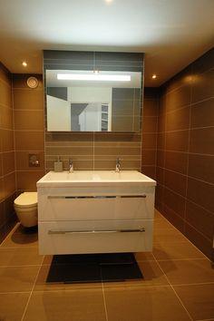optimale oplossing in kleine badkamer.