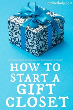 Having to buy gifts for so many people can be difficult on the budget, so why not start buying ahead?  In this post I talk all about how to start a gift closet, and save the most amount of money all year long!