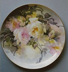 Jean Sadler I fell in love with her work. She inspired me to create porcelain paintings.