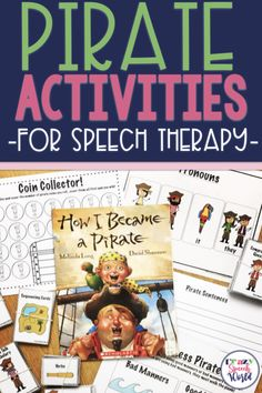 Looking for the perfect theme for speech therapy this fall? This post rounds up several activities for this theme and will have you all set for lesson planning. Articulation Therapy, Articulation Activities, Speech Therapy Activities, Speech Language Pathology, Language Activities, Speech And Language, Book Activities, Phonics Lesson Plans, Preschool Phonics