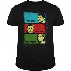 Supernatural Tees  The Good The Bad The Moose TShirt