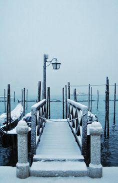 Snowy Venice ❤️