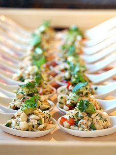 Looking for a special event catering company that provides BBQ buffet and a la carte options? Their wedding caterers create custom packages to accommodate your needs. Check out their wedding catering Indian Catering, Mexican Food Recipes, Ethnic Recipes, Mexican Desserts, Indian Recipes, Drink Recipes, Wedding Catering, Catering Food, Catering Ideas