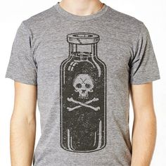 Bottle of poison tee