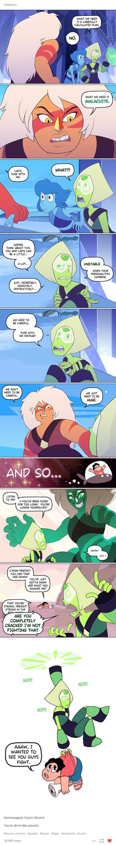 This might be the funniest AU Steven Universe I've ever seen