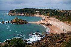 "Portelet Bay (""pirates' bay""), Jersey Island"