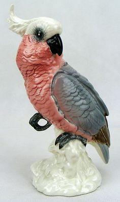 Beswick Birds Cockatoo Small Pink Grey No 1180   eBay