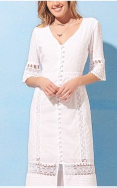 Lace Outfit, Lace Dress, Inexpensive Dresses, Short Summer Dresses, Western Dresses, Classy Dress, Collar Dress, White Fashion, Dress Patterns