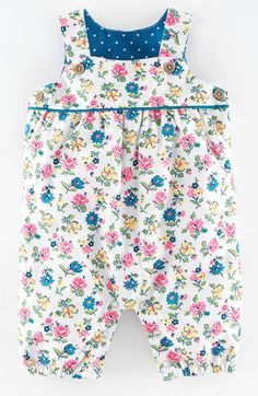Mini Boden Floral Print Dungarees (Baby Girls) available at Newborn Boy Clothes, Funny Baby Clothes, Newborn Girl Outfits, Baby & Toddler Clothing, Toddler Outfits, Kids Outfits, Babies Clothes, Girl Clothing, Toddler Summer Dresses