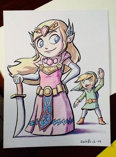 Zelda and Link! Getting ready for ACE! pic.twitter.com/LNno51t2TE By Josh Ulrich